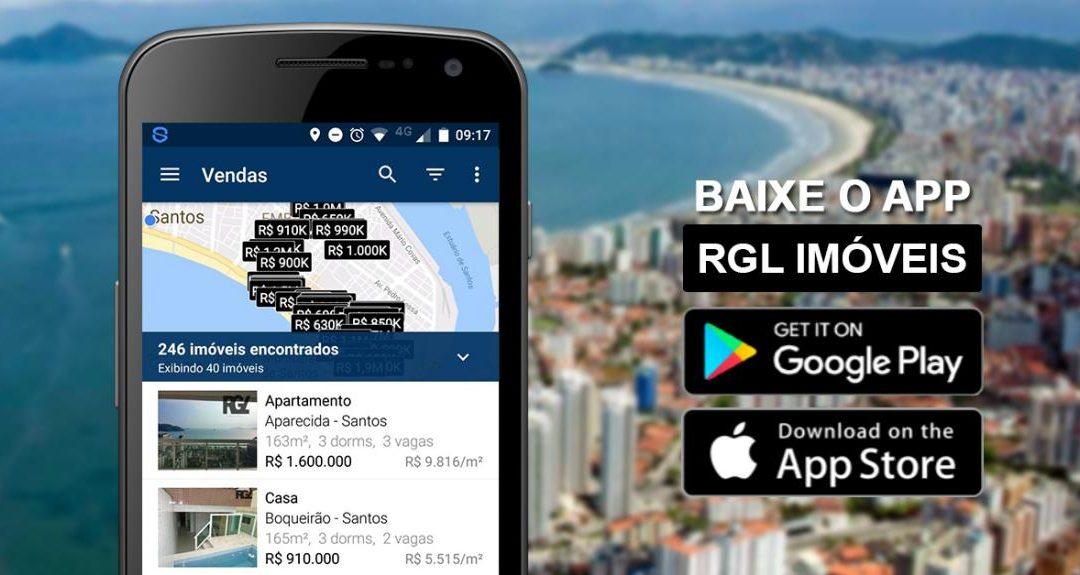 App RGL Imóveis