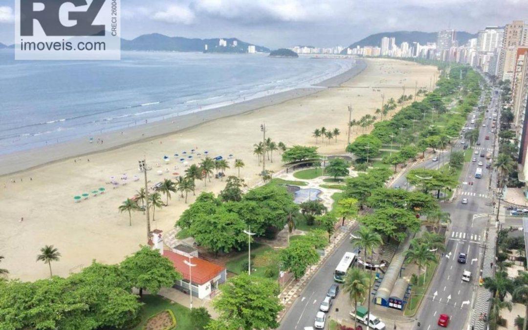 5 motivos para morar em um apartamento de frente à praia em Santos