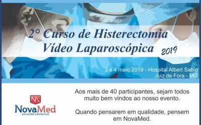 2º Curso de Histerectomia Vídeo Laparoscópia Novamed 2019