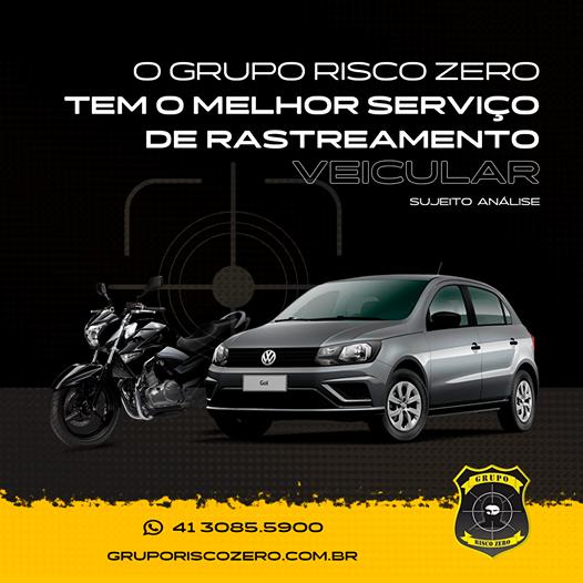 Rastreamento Veicular Grupo Risco Zero
