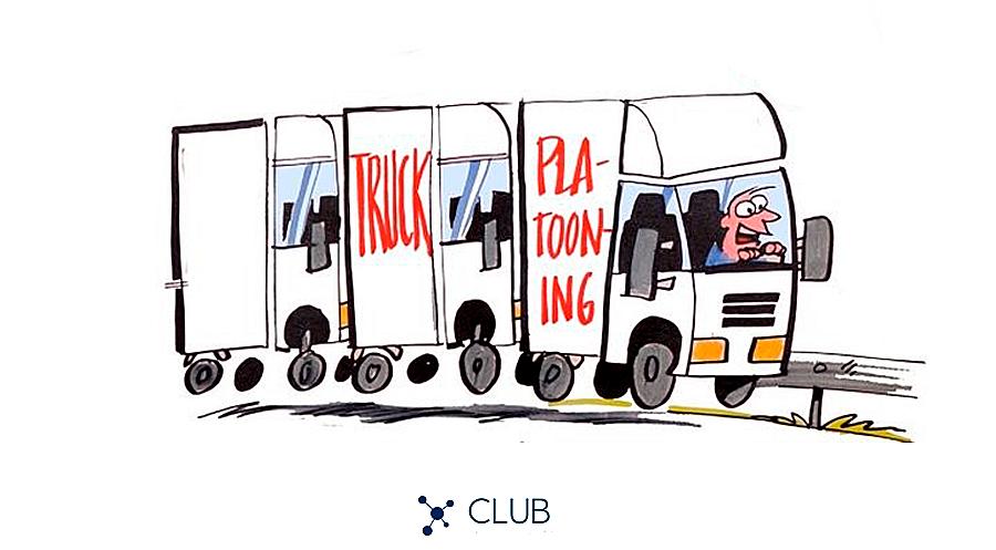 Truck Platooning - Comboios de caminhões semiautônomos