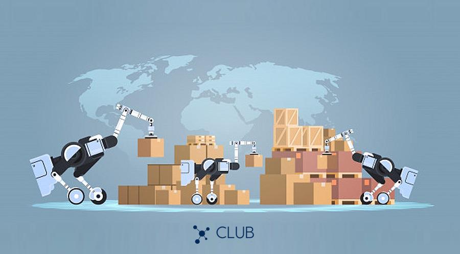 Robôs em logística