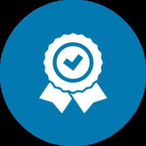 Ícone de certificação