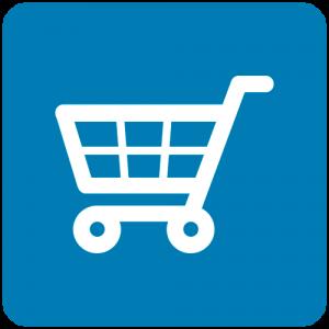 Ícone carrinho de compras