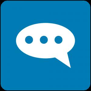 Ícone balão de conversa