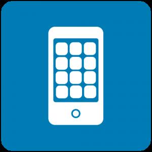 Ícone de app de celular