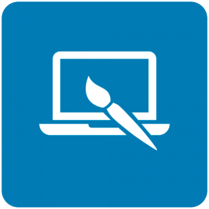 Ícone design gráfico