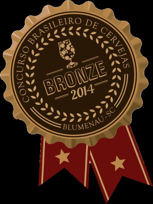 2014 Concurso Brasileiro de Cervejas Bronze