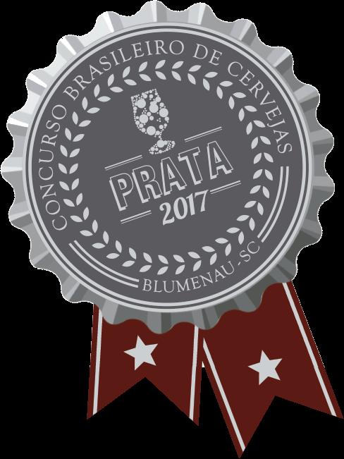 2017 Concurso Brasileiro da Cerveja PRATA