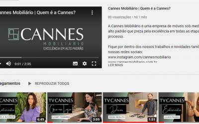 A TV Cannes chegou!