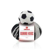 Fio Gorro Kids Bola de Futebol - 100 grs - Circulo
