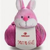 Fio Gorro Kids Coelho - 100 grs - Circulo