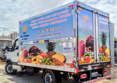 Baú Refrigerado - Frutas1