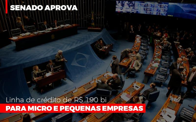 Senado Aprova Linha De Crédito De R$190 Bi Para Micro E Pequenas Empresas - Contabilidade Em Campinas | JL Ramos Contabilidade Digital