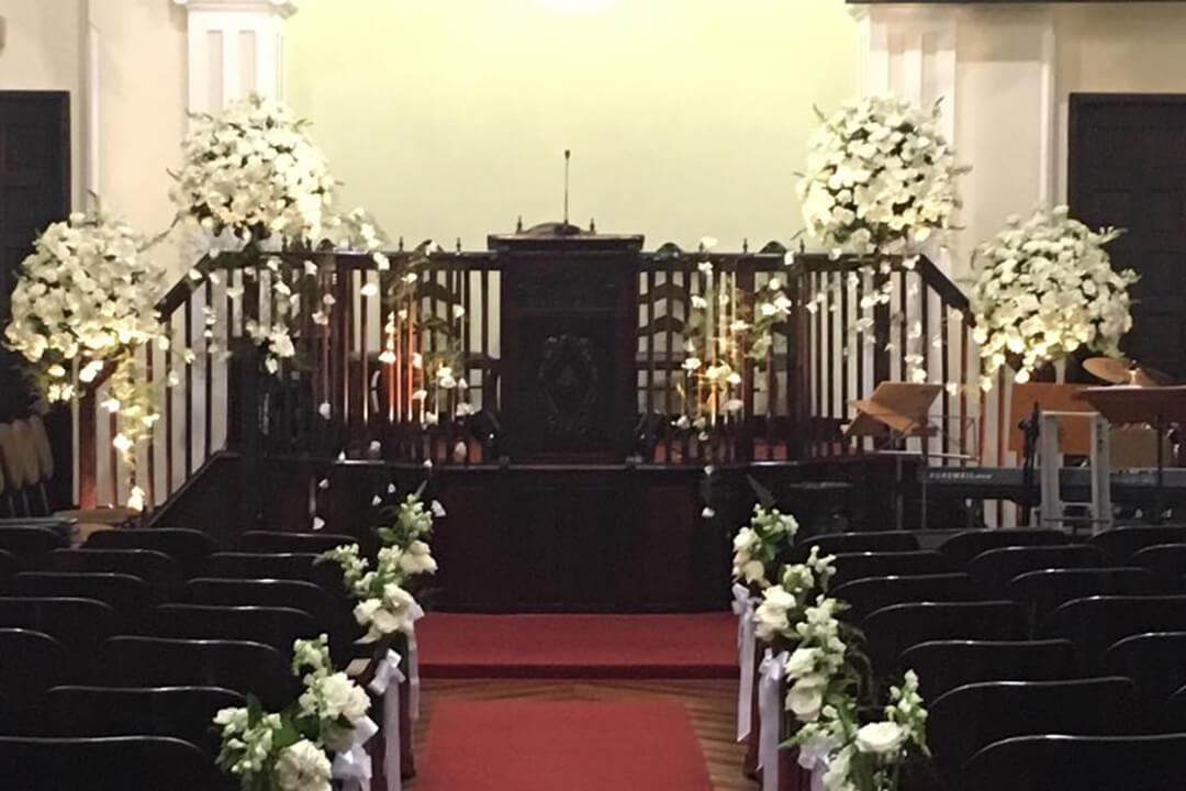Decoração festa comemoração de bodas - Festejare Decorações e Flores