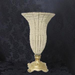 Vaso pérola boca larga-locação de peças decorativas