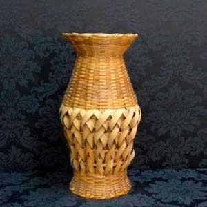 Vaso de palha G -locação de peças decorativas