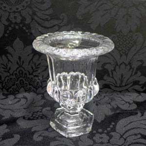 Vaso de vidro cristal P-locação de peças decorativas