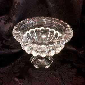 Doceira vidro cristal M -locação de peças decorativas