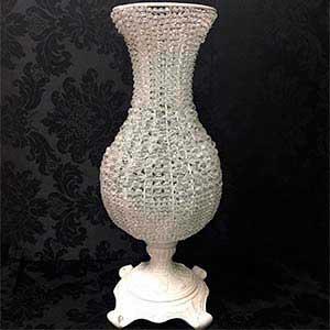 Vaso cristal bojudo G-locação de peças decorativas