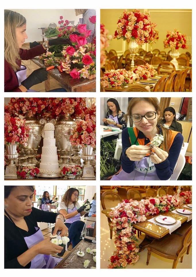 Cursos de arte floral: Técnico Profissionalizante