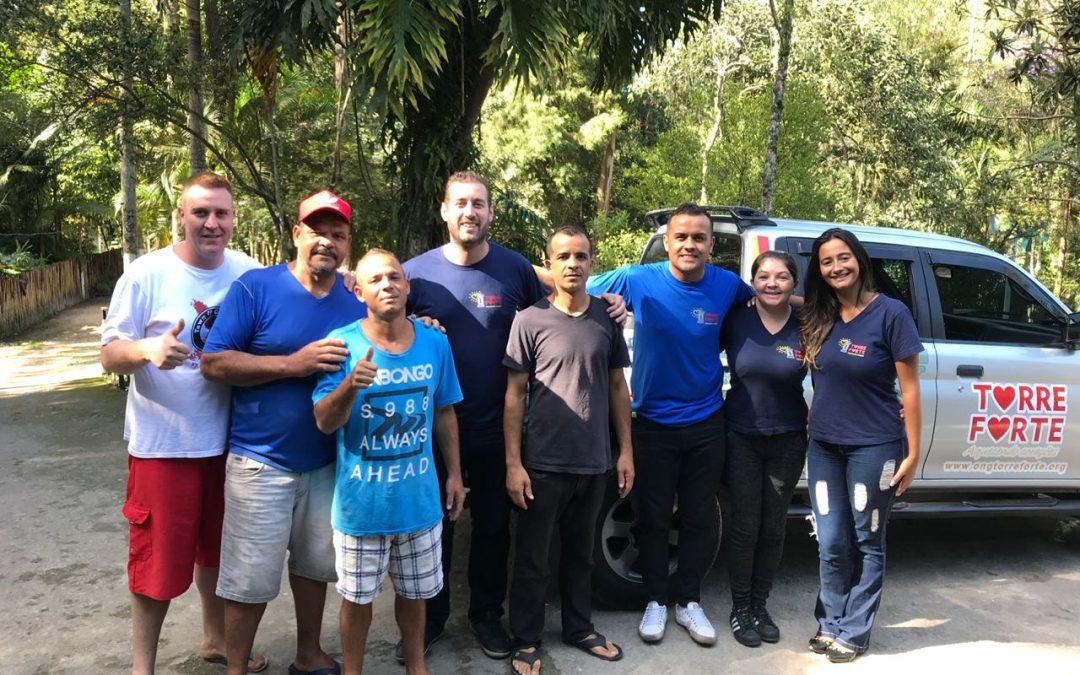 ONG Torre Forte entrega doações arrecadas à clínica de dependentes químicos em São Bernardo do Campo