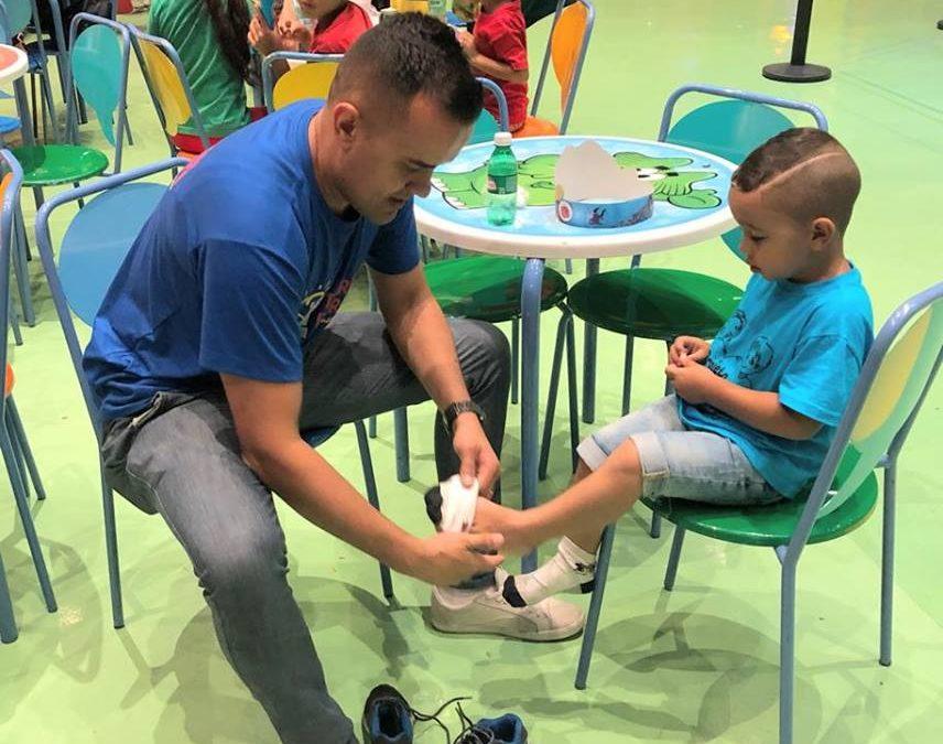 ONG Torre Forte leva a criançada ao parque da Mônica