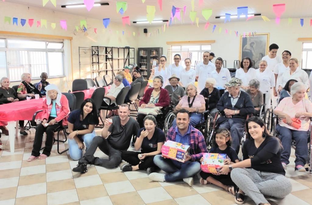 Festa Junina no Abrigo Irmã Tereza em São Cetano do Sul