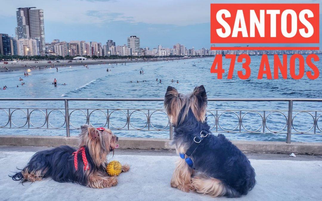 Homenagem Aniversário de Santos