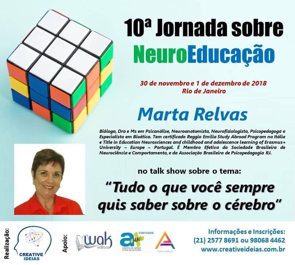 cartaz 10 Jornada sobre NeuroEducação