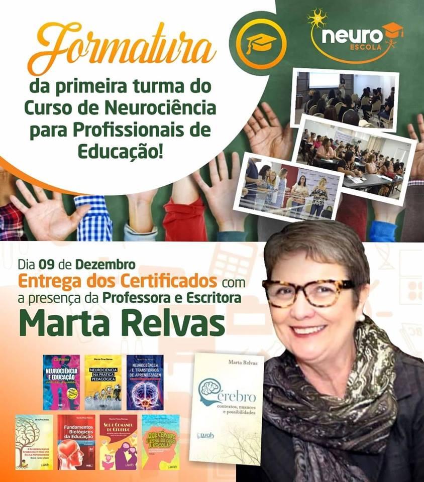 convite formatura Neuro Escola