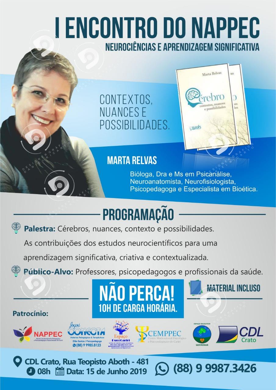 Programação Nappec Neurociência e Aprendizagem Significativa
