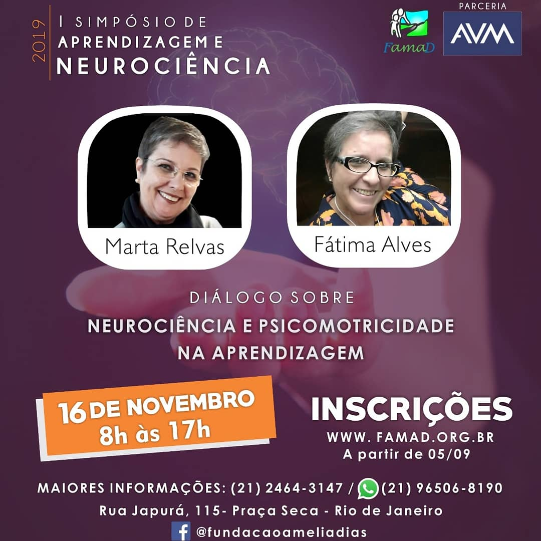 Cartaz Simpósio de Aprendizagem e Neurociência