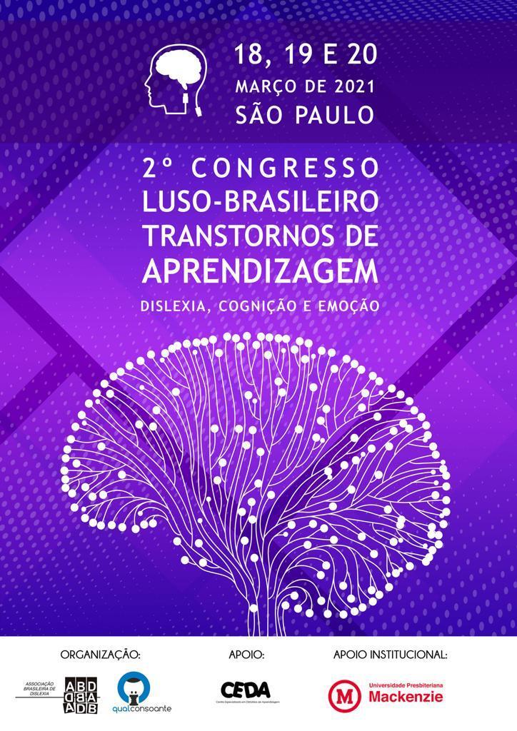cartaz do Congresso luso-brasileiro de transtornos de aprendizagem-2