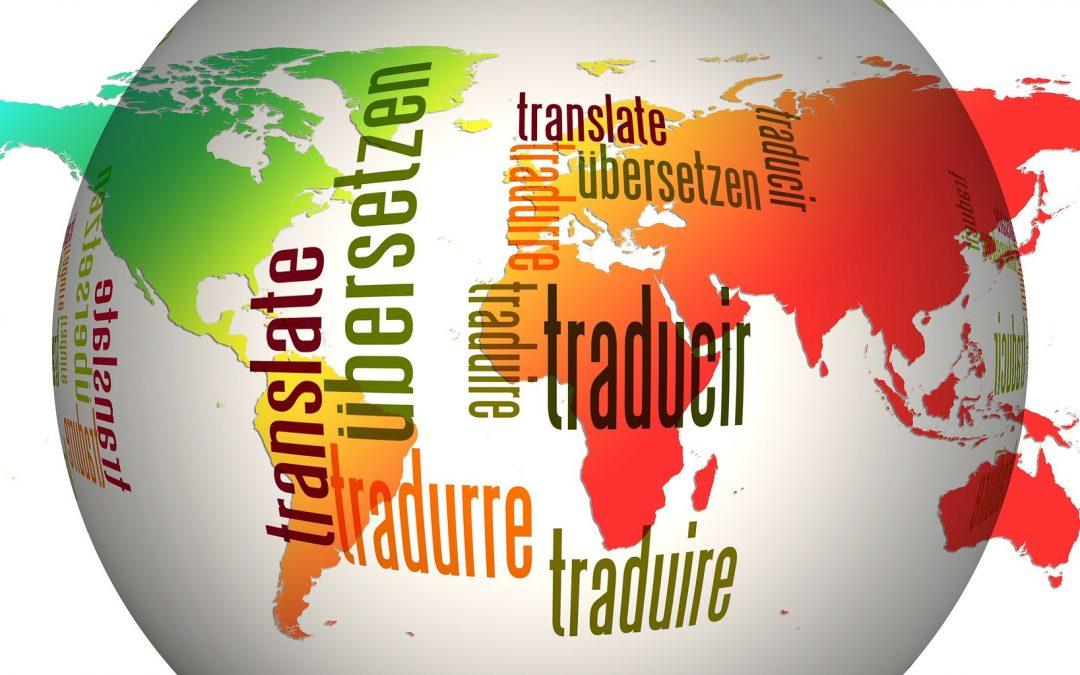 globo de tradução humana