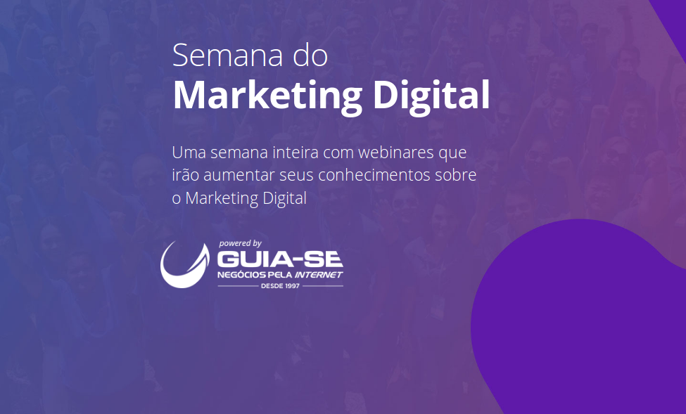 Venha para nossa Semana do Marketing Digital sem sair de casa
