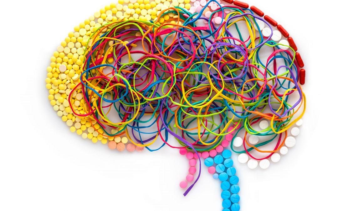 Ilustração de um cérebro afetado pelo coywriting