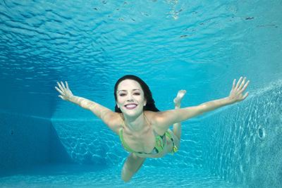 Sorriso sott'acqua